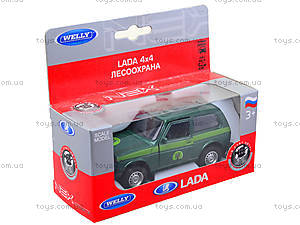 Инерционная машина Lada 4x4 «Лесоохрана», 42386FC-W, отзывы