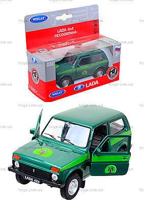 Инерционная машина Lada 4x4 «Лесоохрана», 42386FC-W