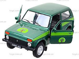 Инерционная машина Lada 4x4 «Лесоохрана», 42386FC-W, детские игрушки