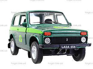 Инерционная машина Lada 4x4 «Лесоохрана», 42386FC-W, магазин игрушек
