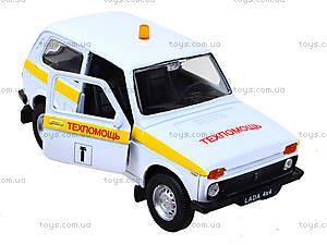 Инерционная машина Lada 4x4 «Техпомощь», 42386TA-W, купить
