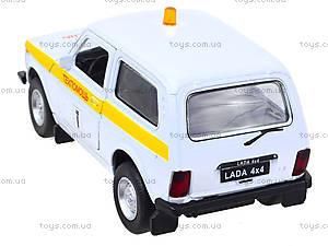 Инерционная машина Lada 4x4 «Техпомощь», 42386TA-W, фото