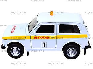 Инерционная машина Lada 4x4 «Техпомощь», 42386TA-W, цена
