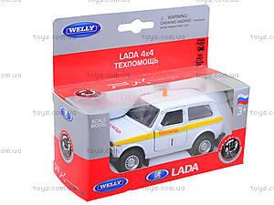 Инерционная машина Lada 4x4 «Техпомощь», 42386TA-W, игрушки