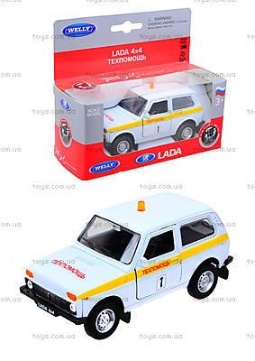 Инерционная машина Lada 4x4 «Техпомощь», 42386TA-W