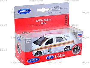 Инерционная машина Lada Kalina «МЧС», 42383RE-W, игрушки