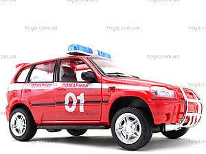 Инерционная машина Нива «Пожарная охрана», 9079-E, детские игрушки