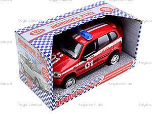 Инерционная машина Нива «Пожарная охрана», 9079-E, toys.com.ua