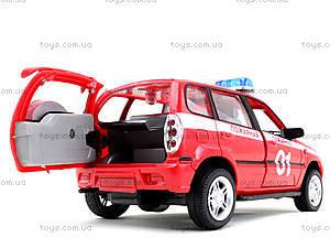 Инерционная машина Нива «Пожарная охрана», 9079-E, іграшки
