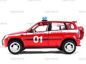 Инерционная машина Нива «Пожарная охрана», 9079-E, детский