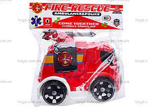 Инерционная машина «Пожарка» для детей, X021-C2, фото