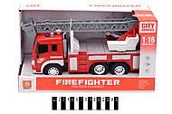 Инерционная машина Пожарная, WY350В