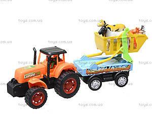Инерционная машина «Трактор с прицепом», 906-172, купить
