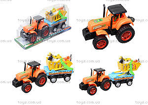Инерционная машина «Трактор с прицепом», 906-172