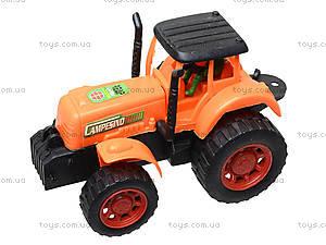 Инерционная машина «Трактор с прицепом», 906-172, отзывы