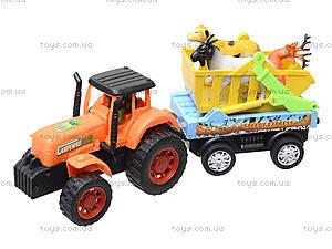 Инерционная машина «Трактор с прицепом», 906-172, цена