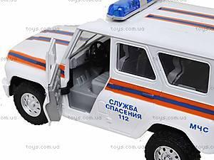 Инерционная машина УАЗ «МЧС», 9076-F, фото