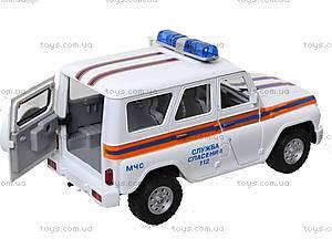 Инерционная машина УАЗ «МЧС», 9076-F, цена