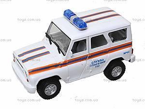 Инерционная машина УАЗ «МЧС», 9076-F, игрушки