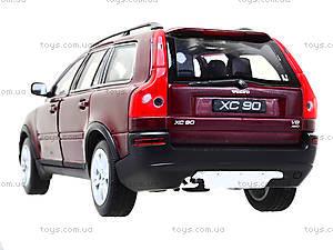 Коллекционная машина Volvo XC90, 22460W, магазин игрушек