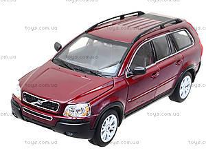 Коллекционная машина Volvo XC90, 22460W, іграшки