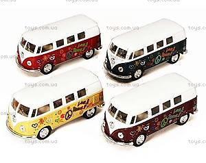 Инерционная машина VW Classical Bus 1962, KT5060WF, цена