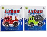 Инерционная машинка детская «Urban Transport», MY9001-2, купить