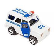 Инерционная машинка «Милиция УАЗ», 732AB