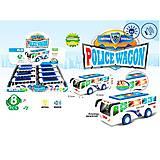 Инерционная машинка «Полицейский автобус», 7704