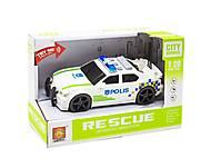 Инерционная машинка Полиция WENYI (WY500A), WY500A, купить игрушку