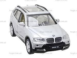 Инерционная металлическая машина BMW X5, 25005A, купить