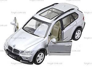 Инерционная металлическая машина BMW X5, 25005A, игрушки