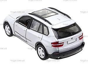 Инерционная металлическая машина BMW X5, 25005A, детские игрушки