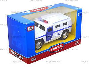 Инерционная модель авто «Автопарк», 6408B, игрушки