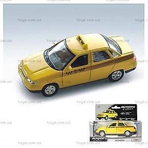 Инерционная модель автомобиля «Такси», 7864W-CIS