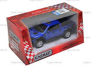 Инерционная модель Ford F-150 SVT Raptor Supercrew, KT5365WF, игрушки