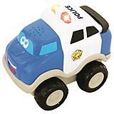 Инерционная полицейская машинка для детей, 050088, отзывы