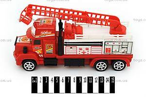 Инерционная игровая машина «Пожарная», 718-3