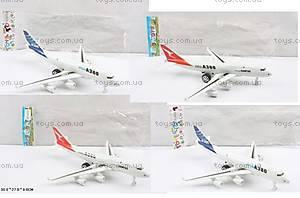 Инерционная игрушка  «Пассажирский самолет», A380-300513