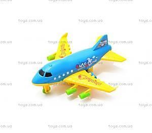 Инерционная игрушка «Самолет», 1308Z-1