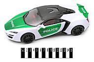 Инерционное авто полицейской серии, 3338, фото