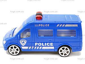 Инерционный автобус «Аварийная служба», A01-04, игрушки