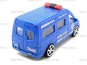 Инерционный автобус «Аварийная служба», A01-04, детские игрушки