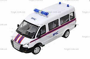 Инерционный автобус МЧС серии «Автопарк», 9689-D, фото