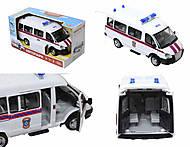 Инерционный автобус МЧС серии «Автопарк», 9689-D