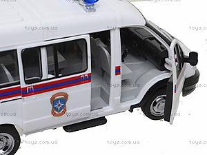 Инерционный автобус МЧС серии «Автопарк», 9689-D, цена