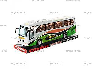 Инерционный автобус с музыкой и светом,