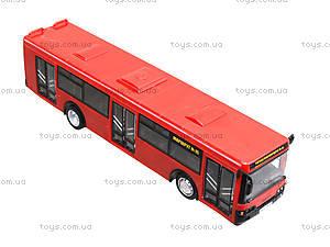 Инерционный автобус серии «Автопарк Маршрут», 9690-C, игрушки