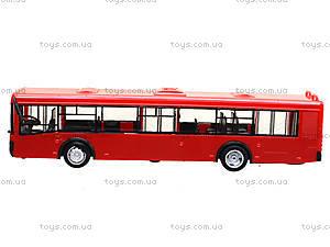 Инерционный автобус серии «Автопарк Маршрут», 9690-C, детские игрушки