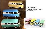Инерционный автобус VW Classical Bus, KT5060WY, отзывы